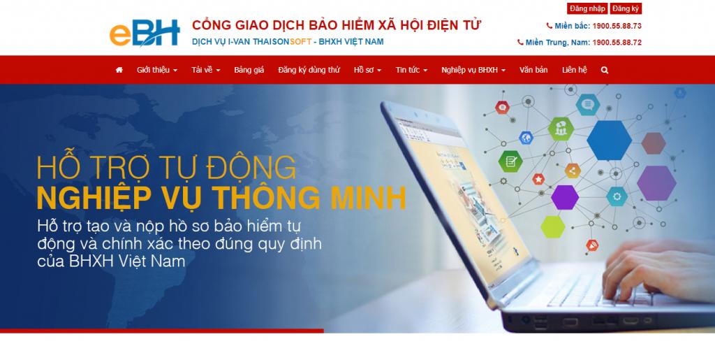 Cổng giao dịch điện tử của đơn vị cung cấp dịch vụ IVAN - ebh