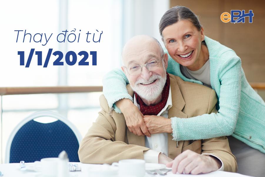Cập nhật điều kiện hưởng lương hưu từ 1/1/2021